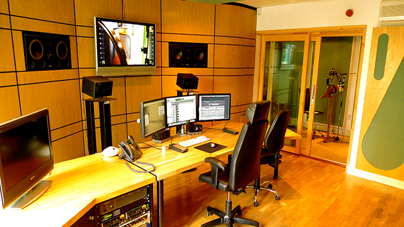 Voiceover Gallery Studio in Manchester