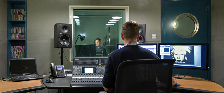 Fully equipped voice over studios in London and Manchester